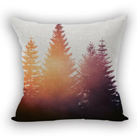 Coconut Palm Cotton Linen Pillow Case Sofa Throw Cushion Cover Home Decor New