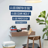 USS MARIETTA ANL 82 Street Sign us navy ship veteran sailor gift