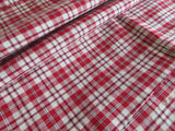 "Unused Set Of Two (2) Pillowcases Euro Shams Checked Linen 32""by31 US-$ 49.90"