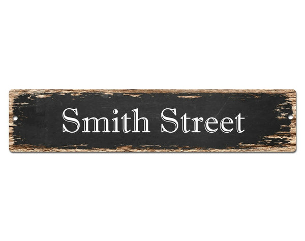 SP0638 SMITH Street Sign Home Cafe Store Shop Bar Chic Decor Gift