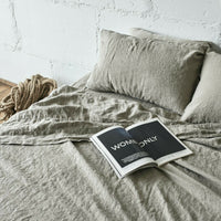 LINEN BEDDING SET Stonewashed Pure linen 100% flax linen SLIP sheet set