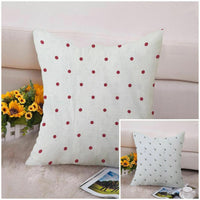 New Polka Dot Printed Cushion Cotton Covers Inch Pillowcases Linen Print