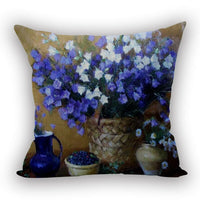 Vintage Flower Series Cotton Linen Pillow Case Decorative Cushion cover New