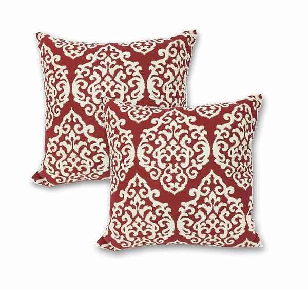 "16"" Geometric Cotton Linen Throw Pillow Case Cushion Cover Decoration Set of 2"