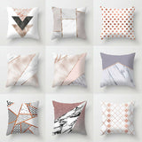 Home INS Nordic Simple Pillow Case Marble Pillowcase Living Room Sofa Car Lumbar