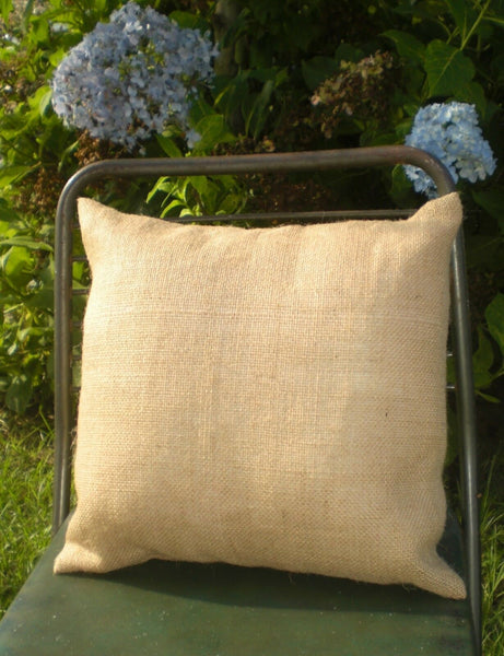 "1 Dozen Burlap Pillow Covers, 16"" or 18"" High Quality FREE SHIPPING!"