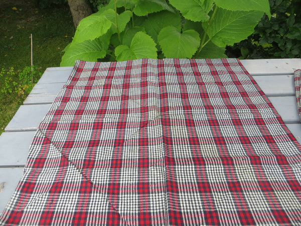 "Unused Cottage Pillowcase Euro Sham handwoven Linen 28 "" by 27 "" German"