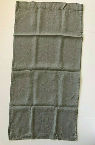 1 West Elm King Belgian Linen Pillow Cases Gray Frost? Steel 20x40