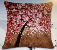 Vintage Flower Cotton Linen Pillow Case Qty12 Styles 3D Cushion Cover Bags Decor