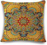 Nice Boho Shabby Chic Cotton Linen Pillowcase Geometric Throw Pillow Cover
