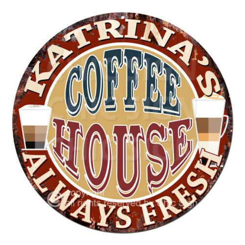 CWCH-0299 KATRINA'S COFFEE HOUSE Always Fresh Sign Decor Gift ideas For Woman