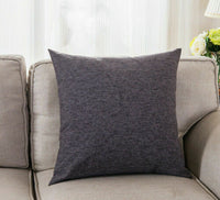Cotton Linen Pillow Case Sofa Waist Throw Cushion Pillow Cover Home Decor DHG16