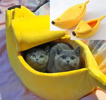 Load image into Gallery viewer, Pet Cat Dog Sofas Bed Banana Shape Dog House Cute Pet Kennel Nest Warm Dog Cat Sleeping Beds House Popular#5