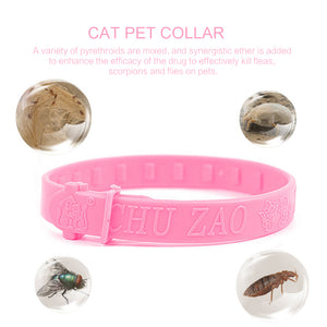 Personalized Flea Collar Cute Style for Cat Multi Function Effective Removal of Fleas Lice Mites Mosquitoes Drop Shipping