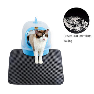 Cat Litter Mat Litter Box Pads Nest Cage Double Layer Waterproof Anti Splash Bedding Doormat Easy Clean Scatter Control For Gato