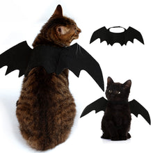 Load image into Gallery viewer, Halloween Cat Dog Cosplay Funny Cats Cosplay Costume Pet Bat Wings Cat Bat Costume Fit Party Dogs Cats Playing Cat Dog Costume