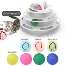 Load image into Gallery viewer, Pet Accessories Window Table Tennis Adsorption Glass Cat Toy Plastic Sucker New Funny Cat Educational Toys Track Toy Ball