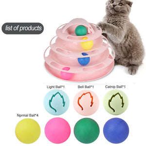 Pet Accessories Window Table Tennis Adsorption Glass Cat Toy Plastic Sucker New Funny Cat Educational Toys Track Toy Ball