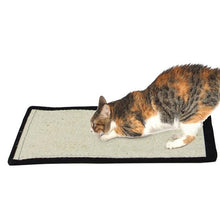 Load image into Gallery viewer, Furniture Protector Cat Play Toys Safe Sisal Cat Scratch Board Kitten Mat Climbing Tree Chair Table Mat  Cat Scratcher With Bell