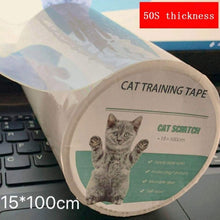 Load image into Gallery viewer, 15x100cm Furniture Guard Cat Scratch Protector Anti-Scratch Tape Roll Cat Scratch Prevention Clear Sticker For Sofa Pet Products
