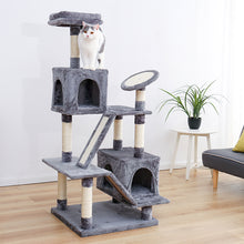Load image into Gallery viewer, Unique Designing Sisal Cat Tree Pet Cat Window Luxury Chair Kitten Jumping Bed House For Cat Scratching Post Funny Hanging Ball