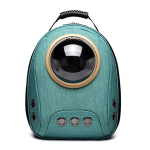 Pet Cat Backpack Travel Puppy Carrier Bag Outdoor Hiking Pet Space Capsule Portable Cats Transport Box Breathable Bags For Dogs