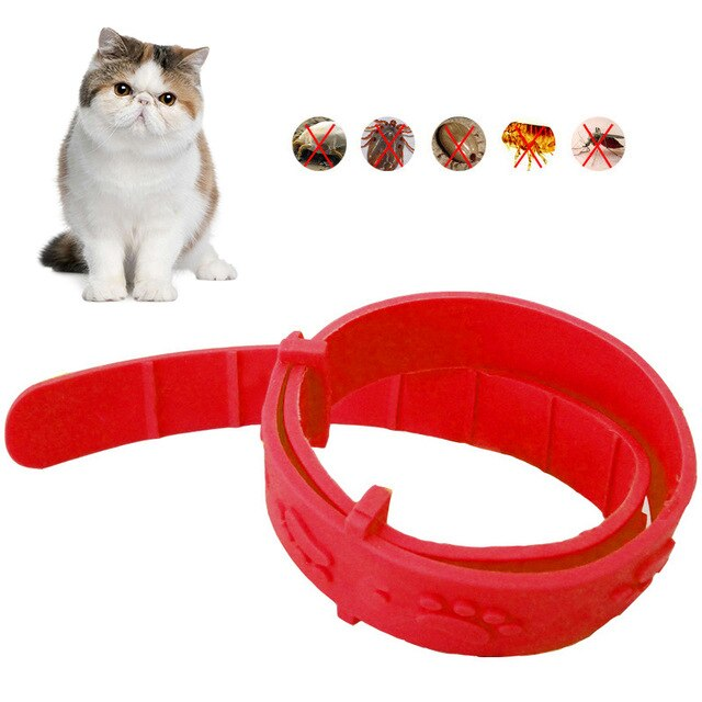 Pet Dog Cat Flea Collar Against Anti Tick Quick Kill Remove Pet Protect Rubber Necklace Pet Gift New Flea Killer