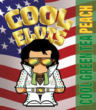 Cool Elvis Green Tea Peach flavour - Flavormonks