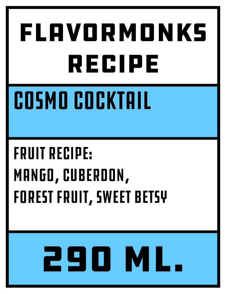 Cosmo Cocktail flavour pack