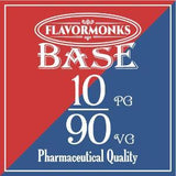 Base 10 PG/90 VG - Flavormonks