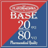 Base 20 PG/80 VG - Flavormonks