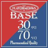 Base 30 PG/70 VG - Flavormonks