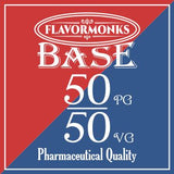 Base 50 PG/50 VG - Flavormonks