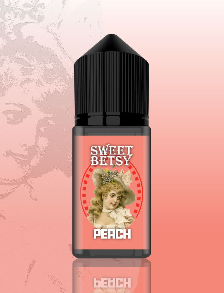 Sweet Betsy Peach flavour