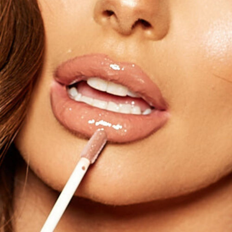 Naughty Nudes Lipgloss | Brown Sugar
