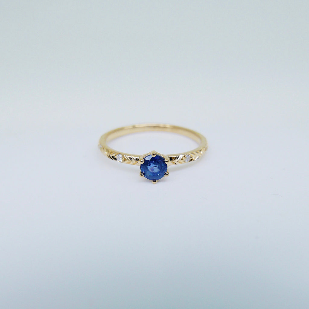 Claire Blue Sapphire Ring