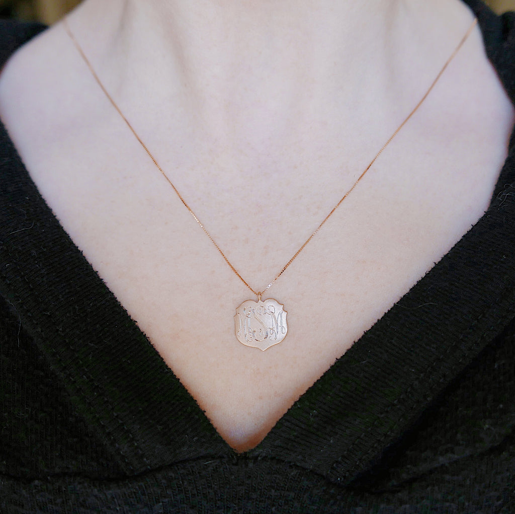 Crest Necklace