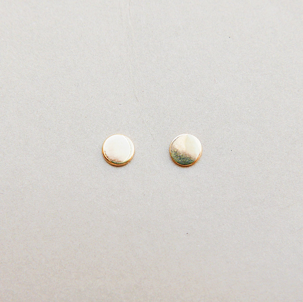 Dot Stud Earrings Large