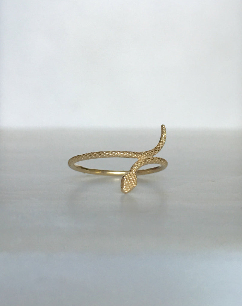 Slither ring, Dainty Snake ring, gold snake ring, snake band, skinny snake ring