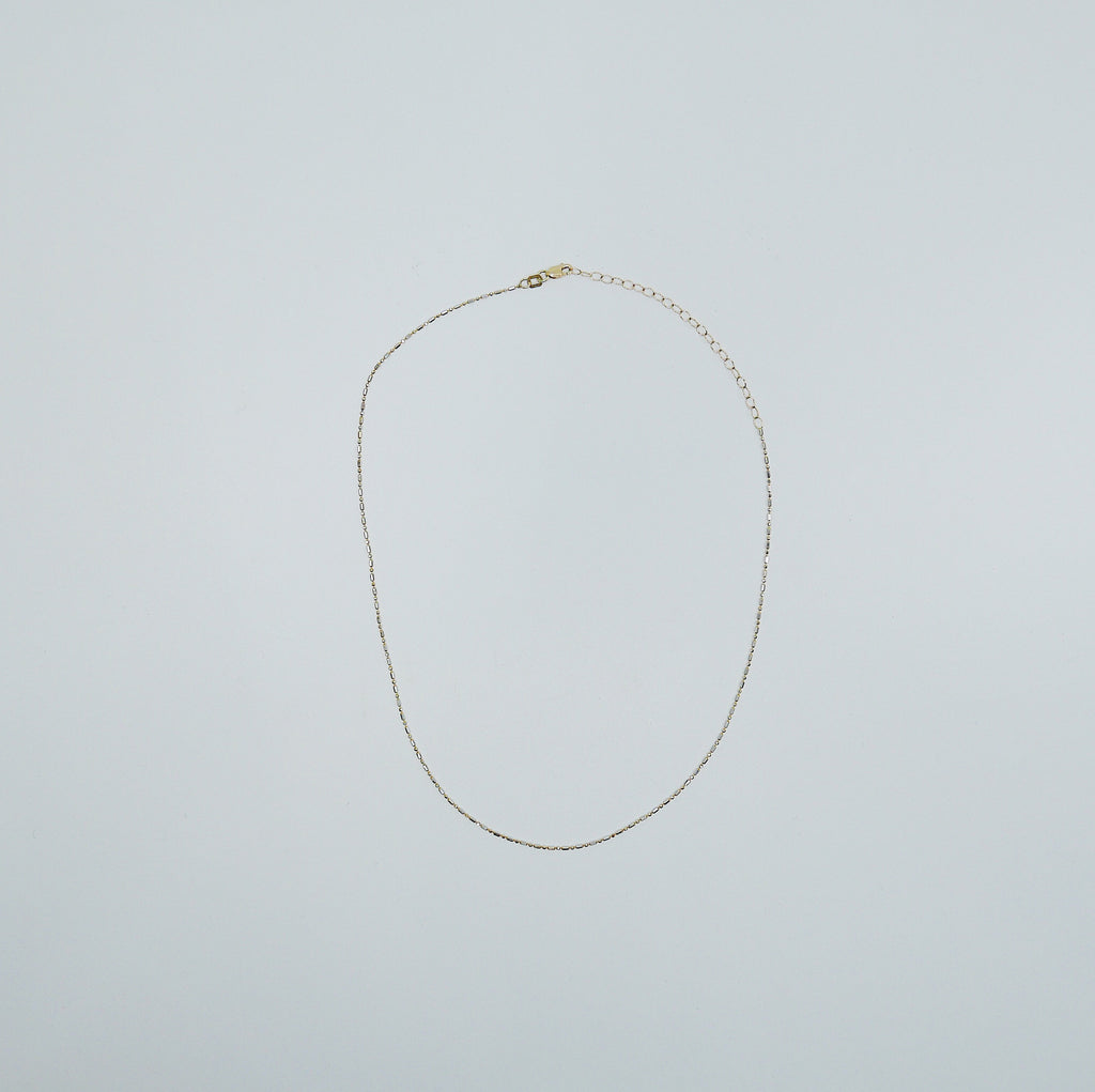 Dash Dot Chain Choker, Thin 14k gold chain choker, 14k gold chain, short gold necklace, gold choker, thin dainty choker, everyday choker