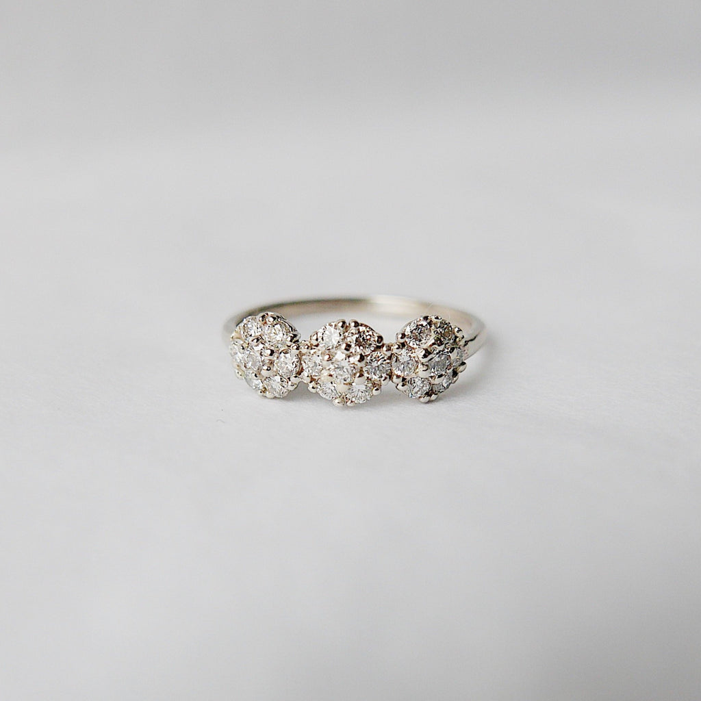 Three Graces Diamond Ring