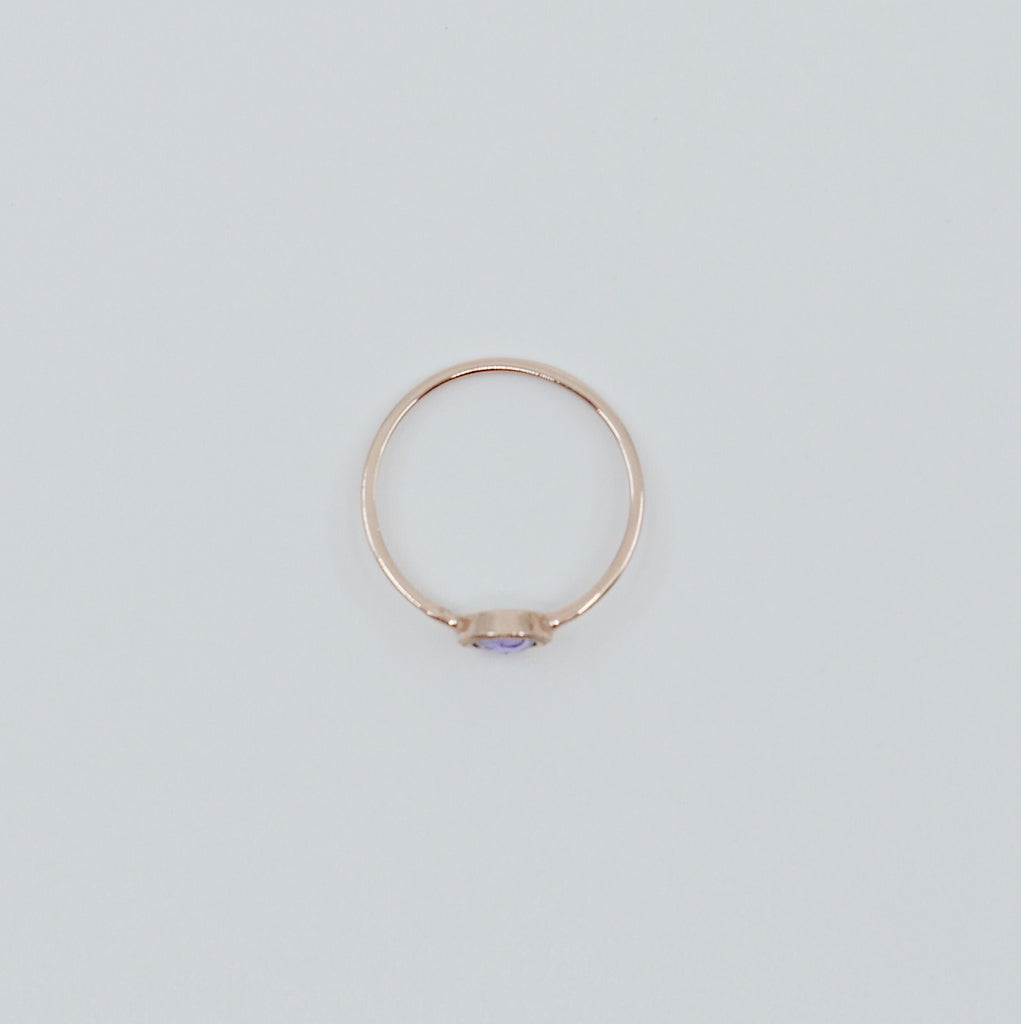 Justine Sapphire Ring
