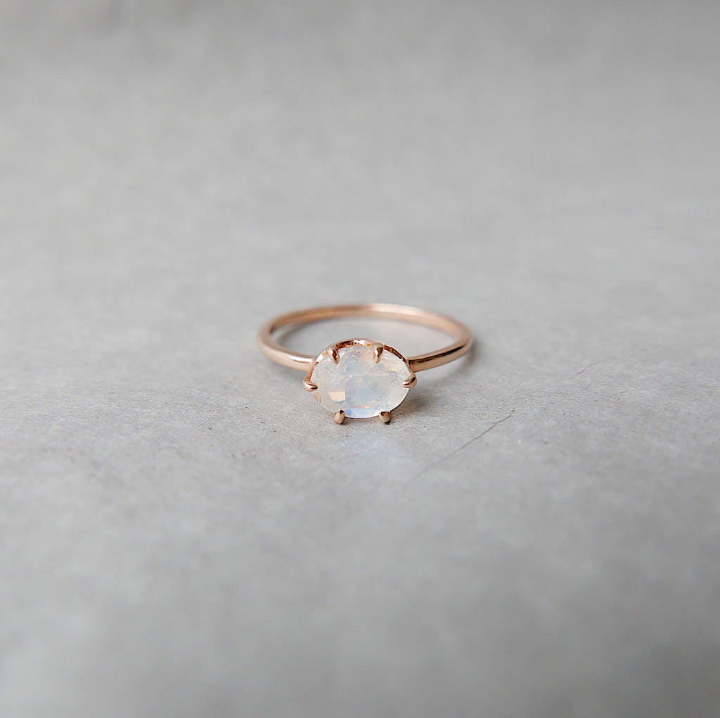 Margaux Moonstone Ring