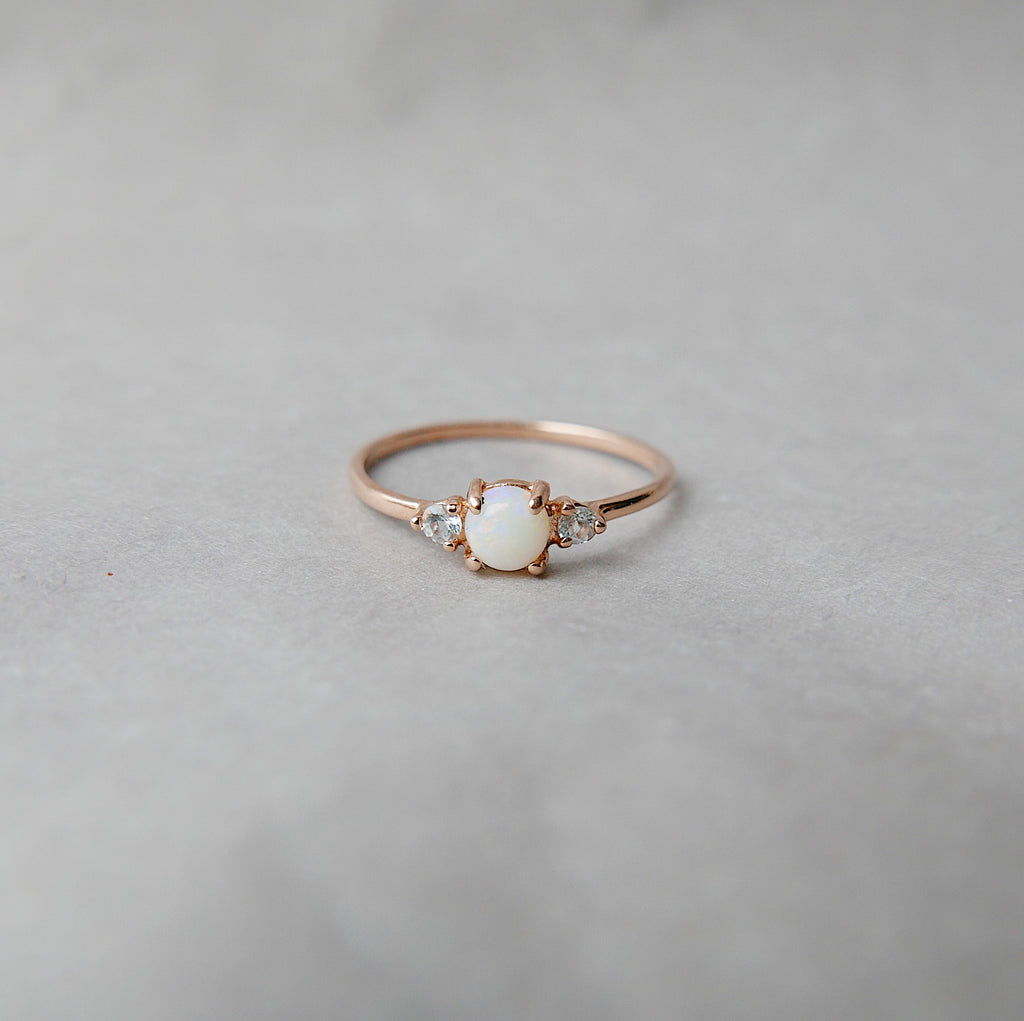 Penny Opal Ring