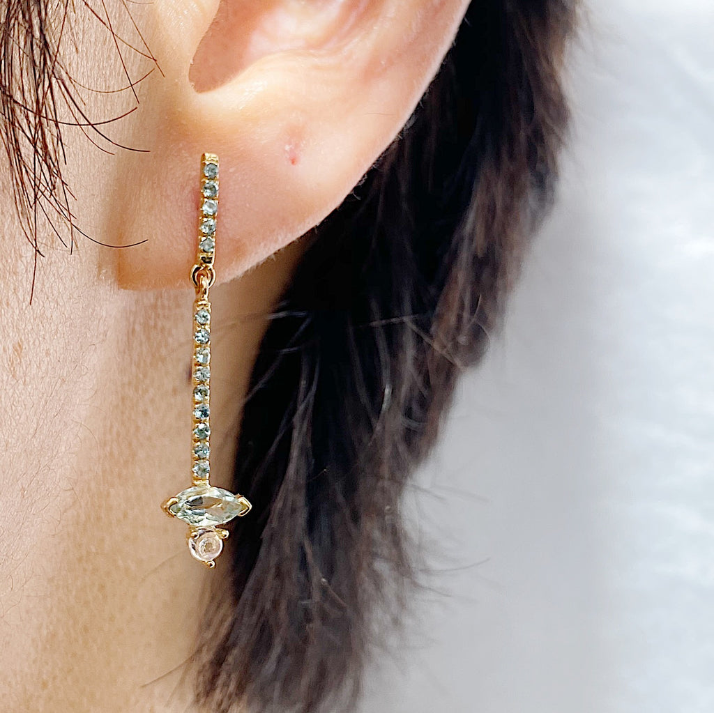 Sticks and Stones Marquise Duo Earring