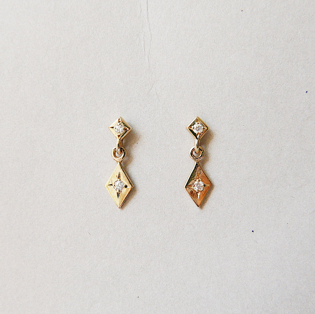 Sway With Me Diamond Earring