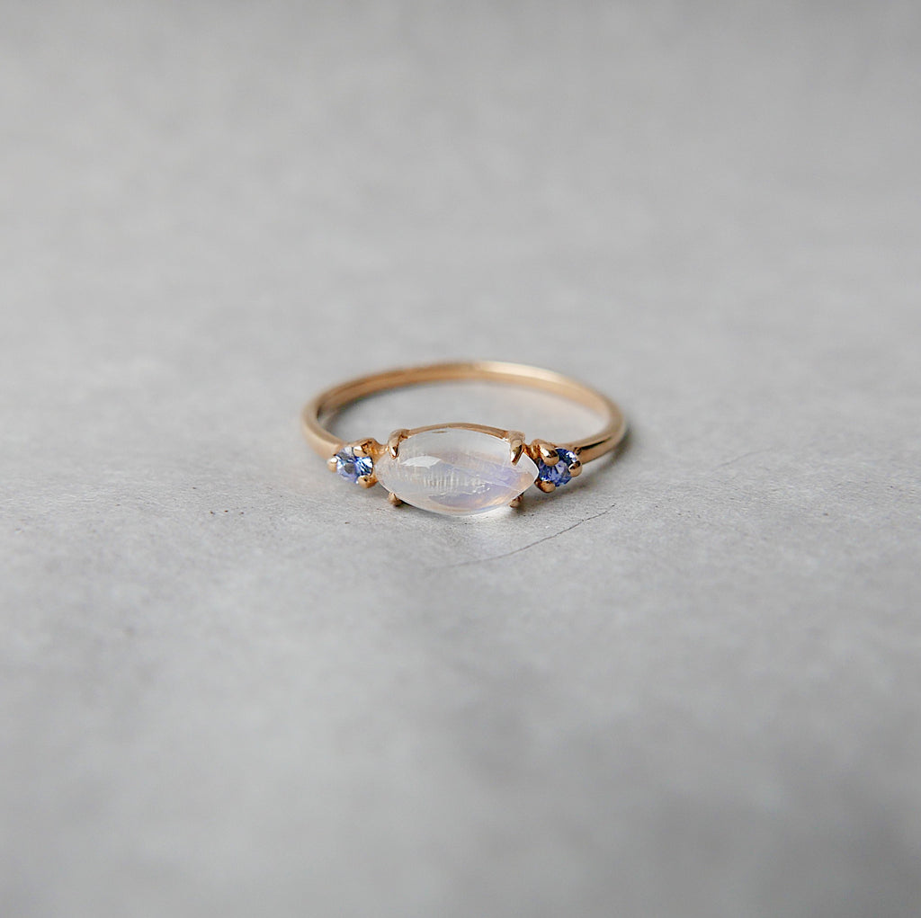 Twiggy Moonstone Ring