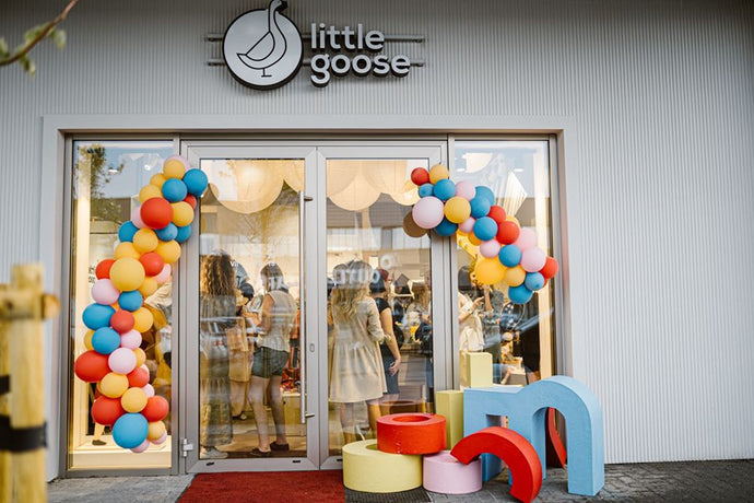 New friendship with specialised kids toys and clothes shop Little goose