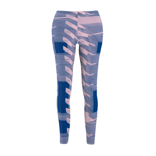 Women's Cut & Sew Casual Leggings | Jeggings | Abstract - BnG Wear