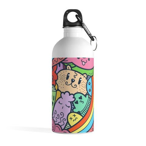Blessed and Blush Monster Doodle Stainless Steel Water Bottle - BnG Wear